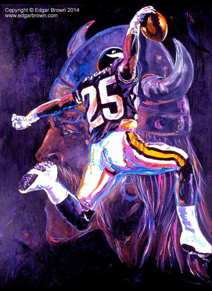 Sports Art Paintings by Sports Artist Edgar J Brown