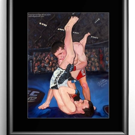 Mixed Martial Arts Painting