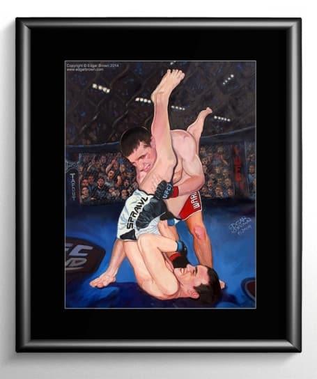 Mixed Martial Arts Painting