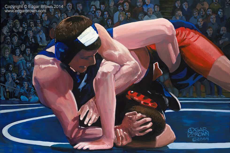 Motivational Wrestling Poster