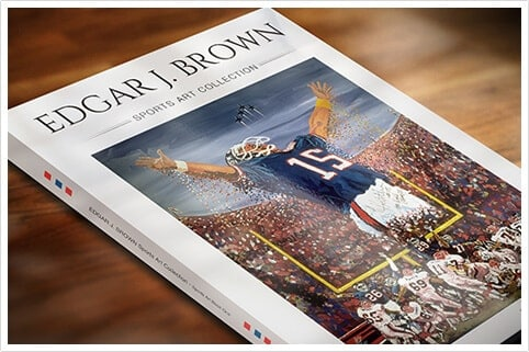 Edgar J. Brown Sports Collection Book