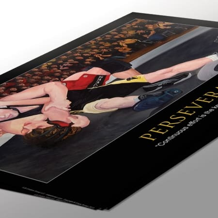 Perservance Wrestling Poster