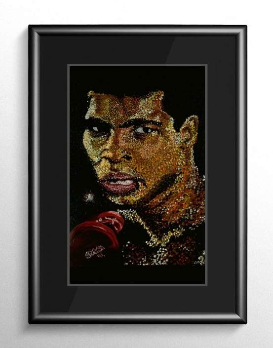 Muhammad Ali Boxing Artwork