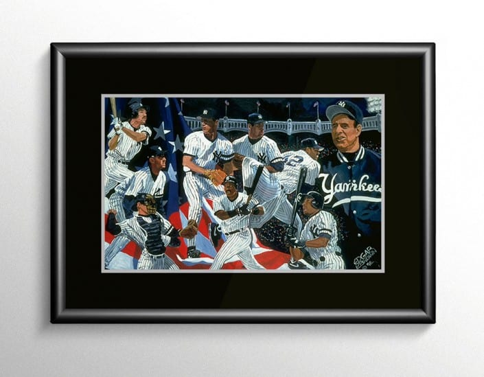 New York Yankees 1996 World Series Painting