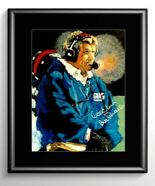 Bill Parcells Painting