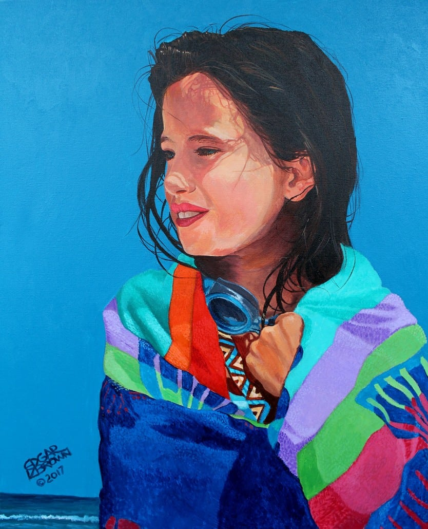 Brianna Portrait Painting