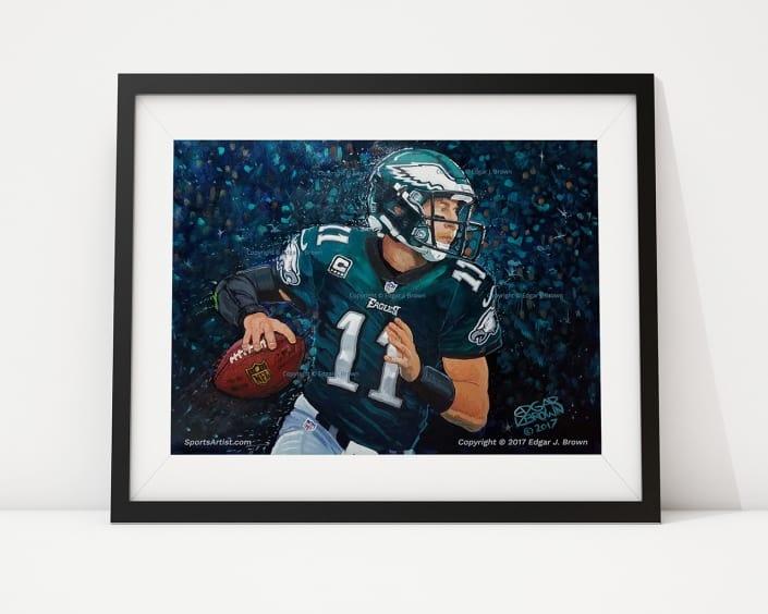 Eagles Carson Wentz Fine Art