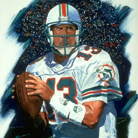 Miami Dolphins Dan Marino Artwork