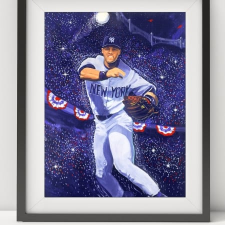 Derek Jeter Framed Art
