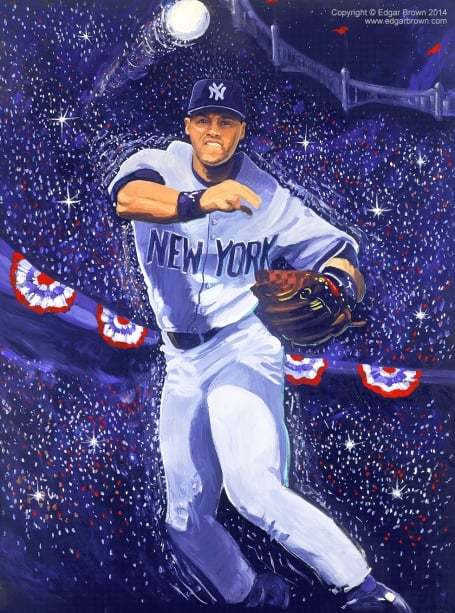 Derek Jeter New York Yankees MVP