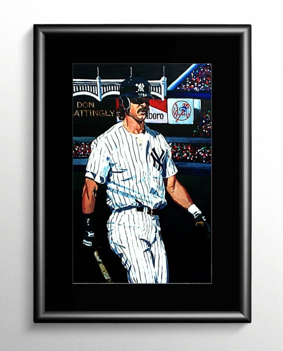 Don Mattingly Painting