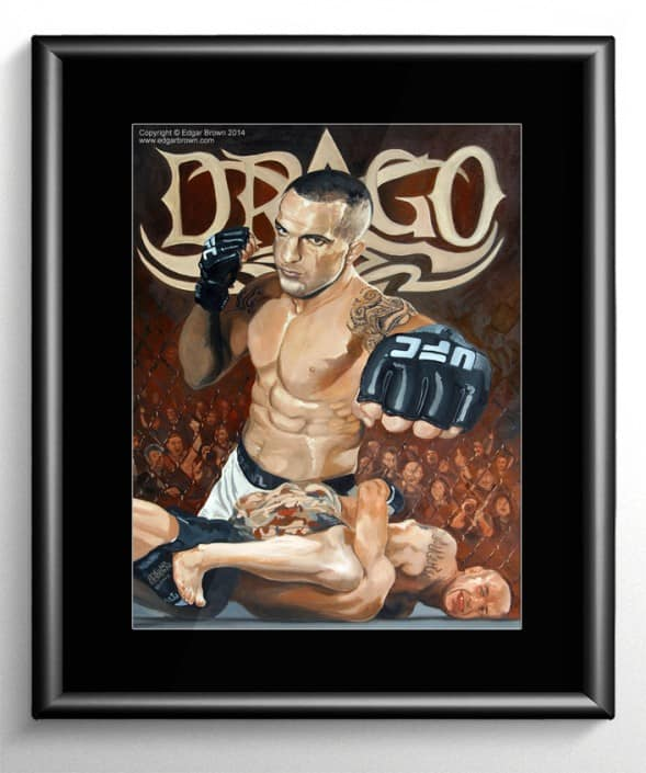 "Pete ""Drago"" Sell Painting"