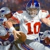 New York Giants Eli Manning Artwork