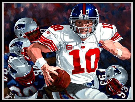 Eli Manning Slider Art