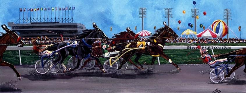 Hambletonian Horse Racing Painting