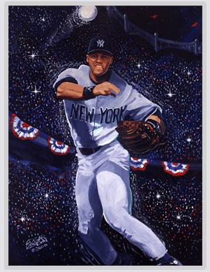 Derek Jeter Painting
