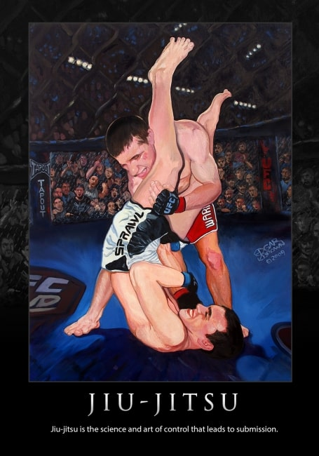 Jiu-Jitsu Fine Art Poster