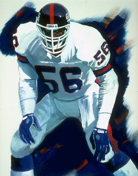 Lawrence Taylor Painting