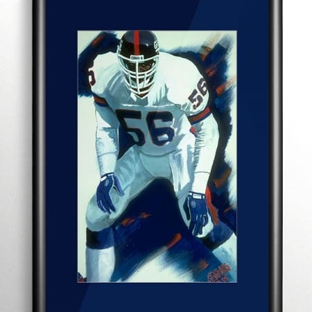 New York Giants Sports Art
