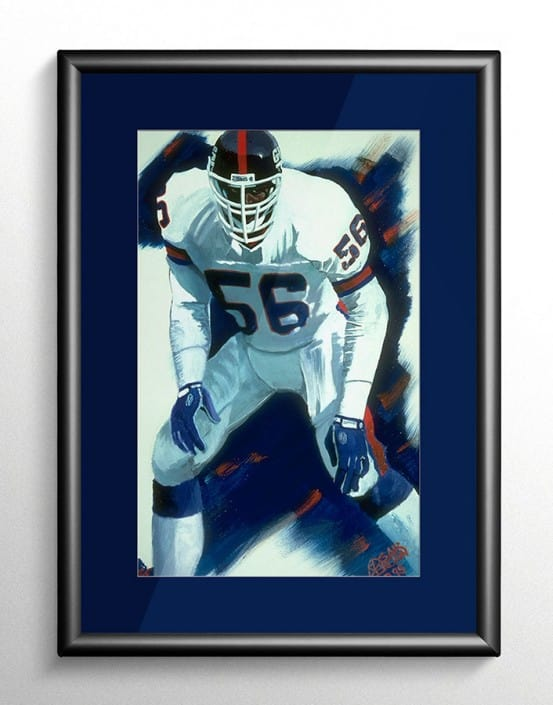 New York Giants Sports Art
