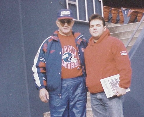 Edgar Brown and Dan Reeves