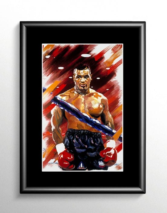 Mike Tyson Boxing Artwork