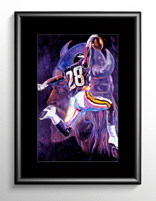 Minnesota Vikings Football Painting