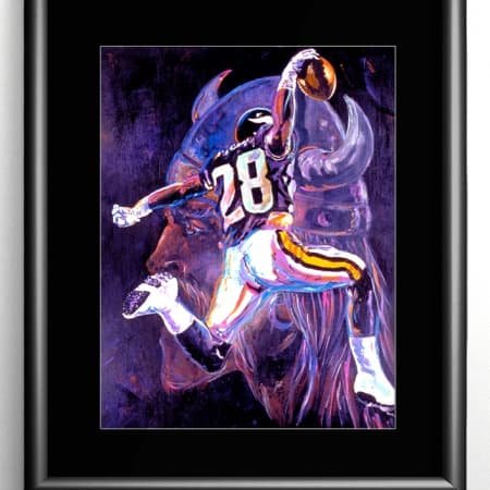 Minnesota Vikings Painting
