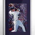 NY Yankees Derek Jeter Sports Art