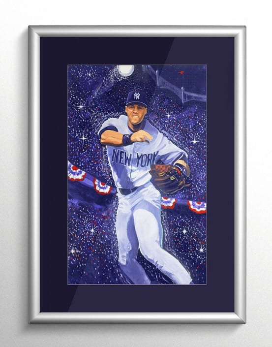 Derek Jeter World Series MVP Art