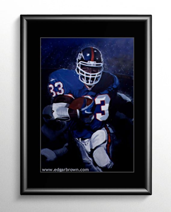 New York Giants Football Painting
