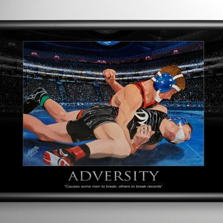 Adversity Wrestling Art