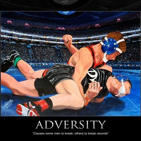 Adversity Wrestling Poster