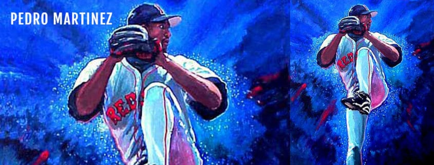 Pedro Martinez Painting by Edgar Brown