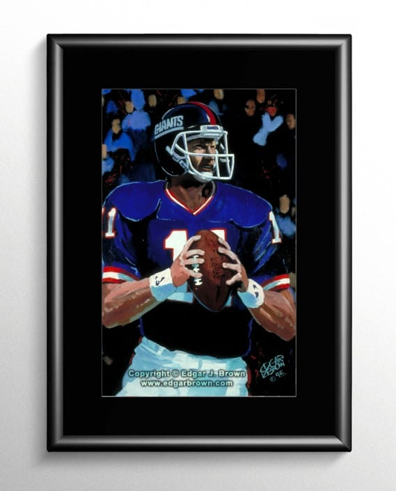 Phil Simms Painting