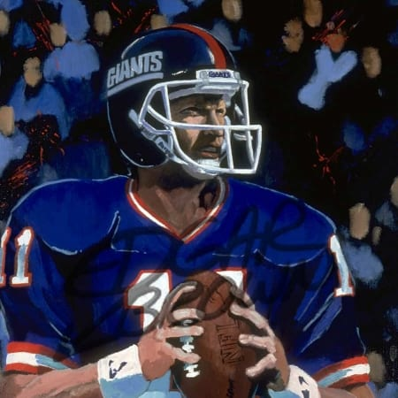 Phil Simms NY Giants MVP