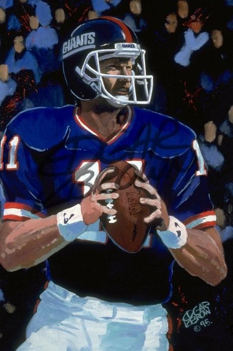 Phil Simms NY Giants MVP