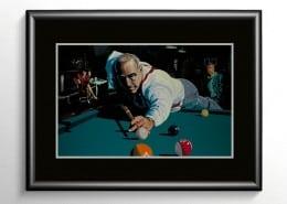 Pool Billiards Painting