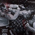 Randy Couture UFC Champion Art