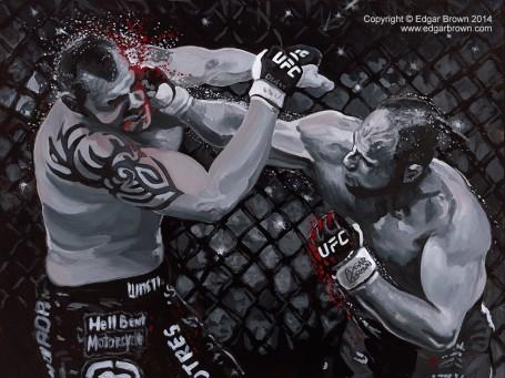Randy Couture UFC Champion Art