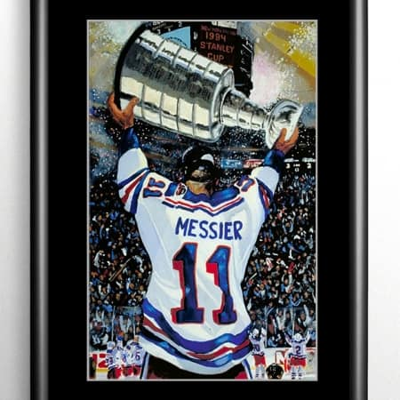 New York Rangers Stanley Cup Painting