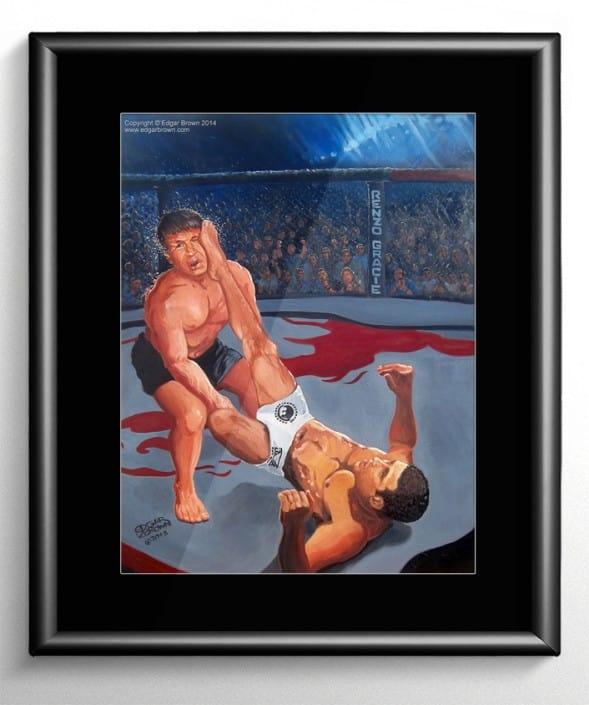 Renzo Gracie Brazilian Jiu Jitsu Painting