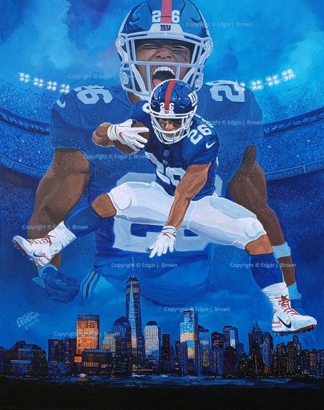 Saquon Barkley SB26 Edition