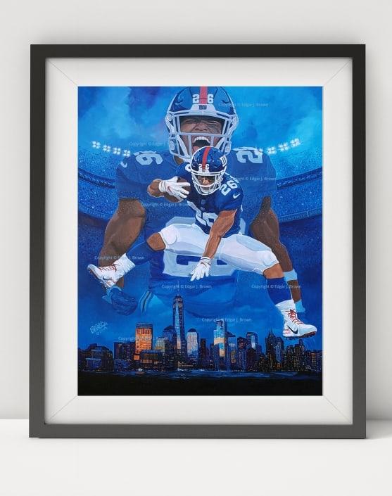 NY Giants Saquon Barkley