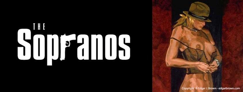 Sopranos Art by Edgar Brown