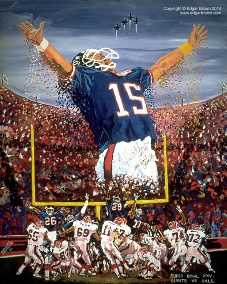 Super Bowl XXV Artwork