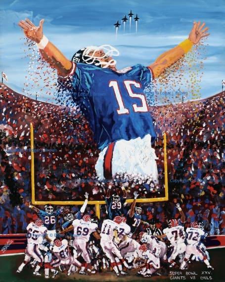 NY Giants Super Bowl XXV