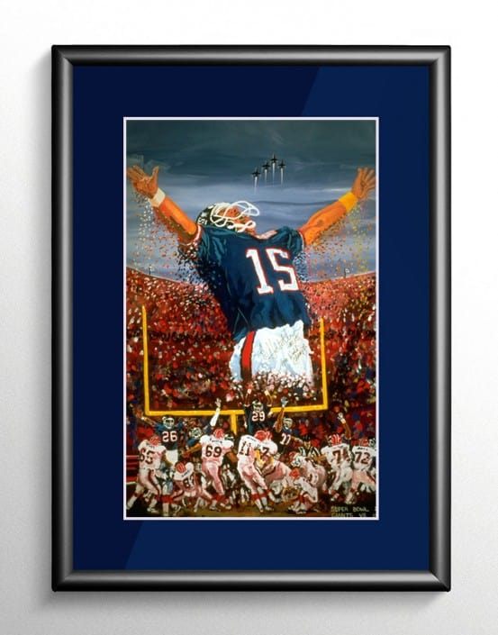Super Bowl XXV Triumph in Tampa Painting