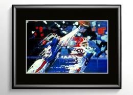 Myron Guyton Football Painting