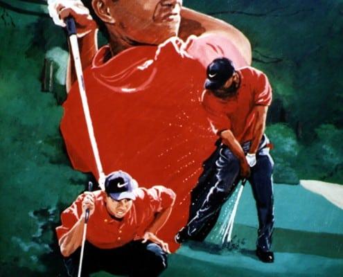 Sports Art Paintings by Sports Artist Edgar J. Brown